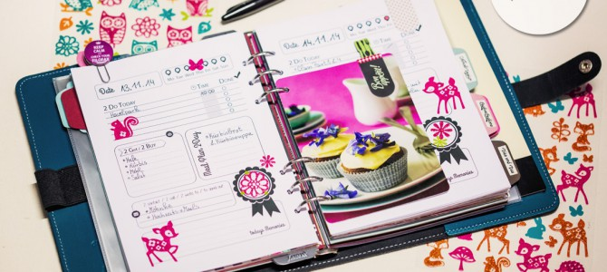Download: Printable Filofax Pages 1 Day on 1 Page for A5 Size