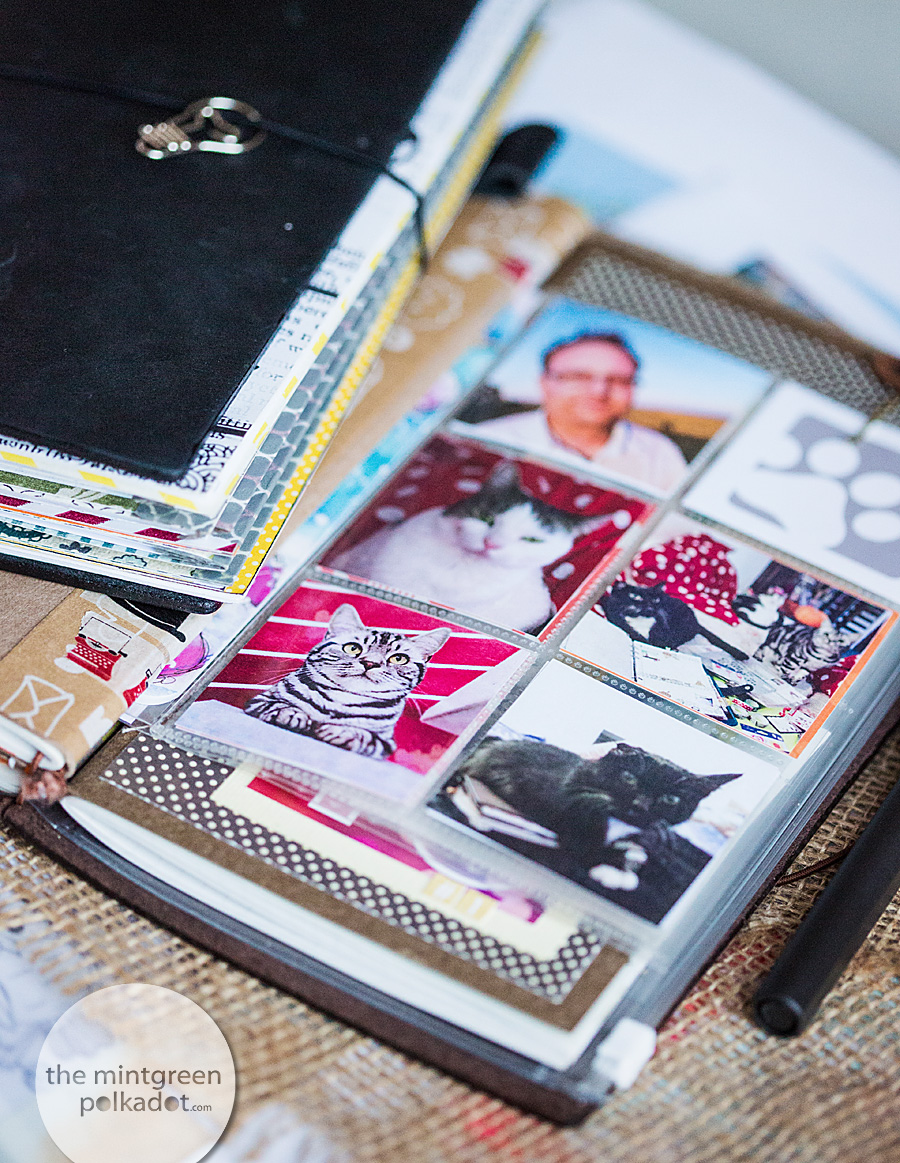 DIY Clear Pockets for Midori Travelers Notebook