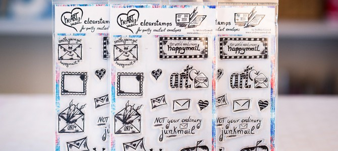 Happymail Clearstamp Set now available